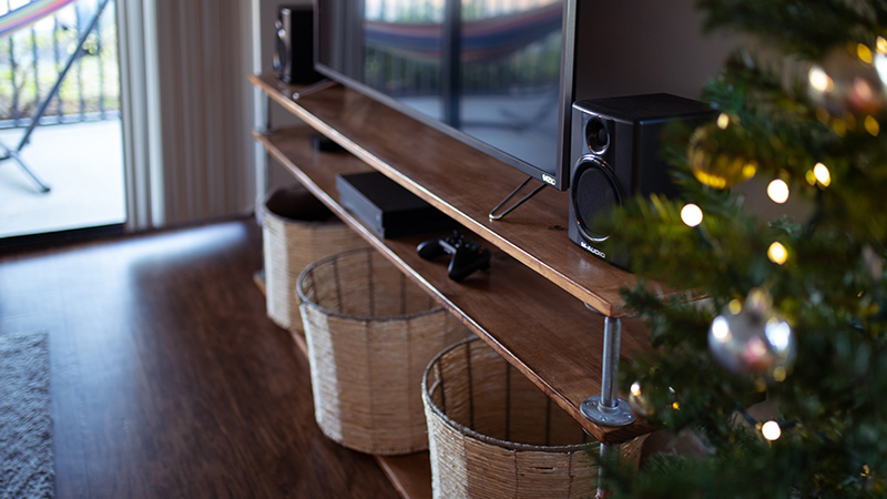 wooden-tv-stand